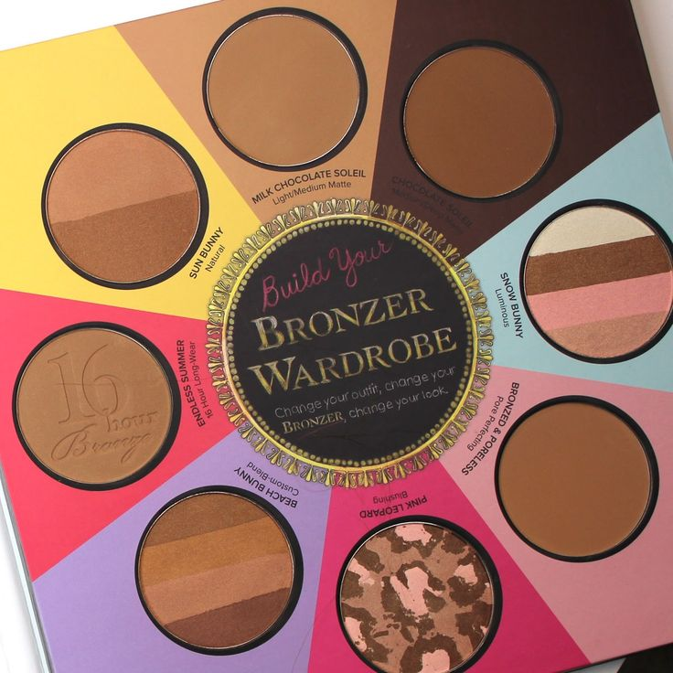 Watch Bailey B - Making Up the Midwest - on youtube and her blog for her great 60 second reviews, swatches, and best of all product comparisons. http://makingupthemw.com/2014/05/too-faced-little-black-book-bronzer-giveaway.html
