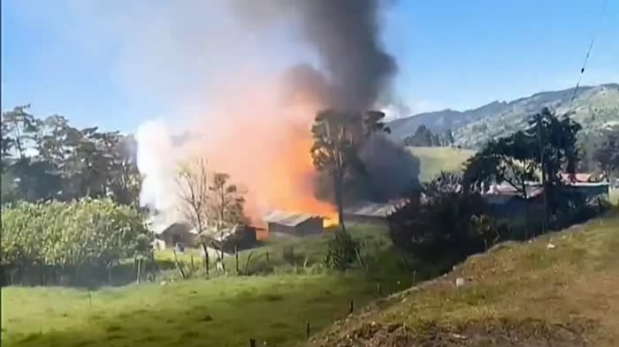 Fireworks warehouse explosion in Colombia (1:22)                                                                                                                                                      G... http://webissimo.biz/fireworks-warehouse-explosion-in-colombia-122/ Check more at http://webissimo.biz/fireworks-warehouse-explosion-in-colombia-122/