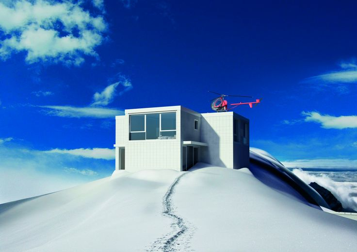 Prefabricated house- Oliviero Toscani and Studio Attù for MORE