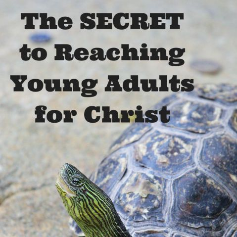 The SECRET to Reaching Young Adults for Christ - Melanie Redd