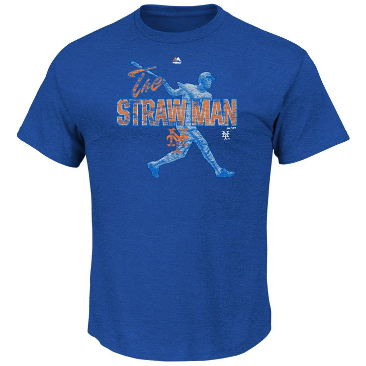 Darryl Strawberry New York Mets Majestic Cooperstown Emotion Evoked T-Shirt - Royal - $23.99