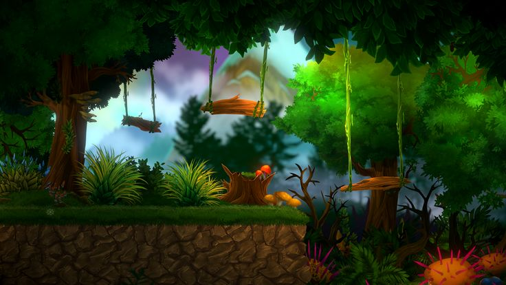 2D FOREST PACK WITH 9-SLICING SPRITES [Unity 2D graphics environment Asset]  Tatiana Maslyuk on Behance