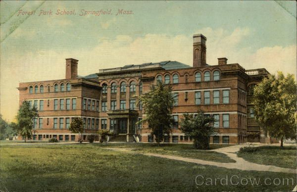 Forest Park Springfield MA 1910 | Forest Park School ...