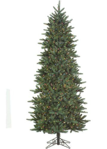 Felices Pascuas Collection 9' Slim Fresh Cut Carolina Frasier Artificial Christmas Tree Multi Pre-Lit