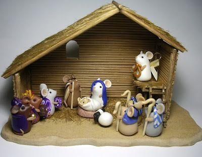 Quernus Crafts: The Mouse Nativity Part 2 (23 November 2010)