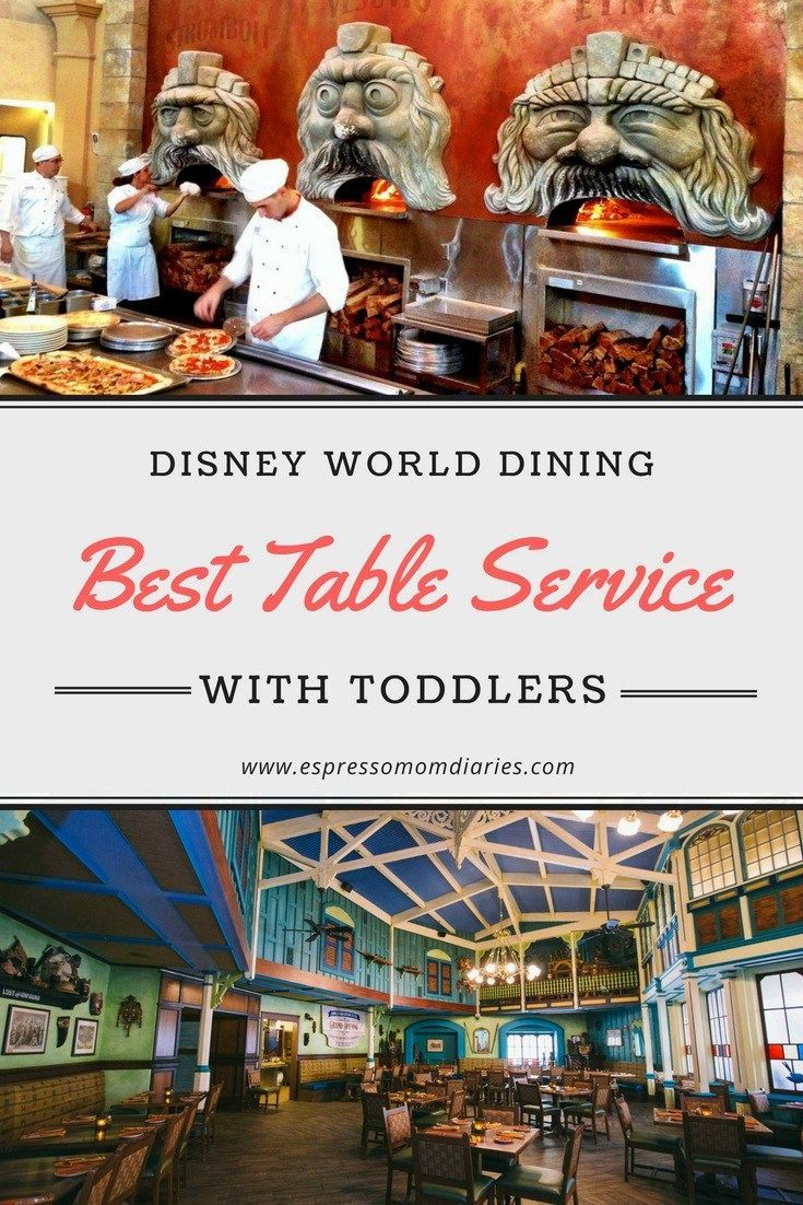 Disney Restaurants With Table Service