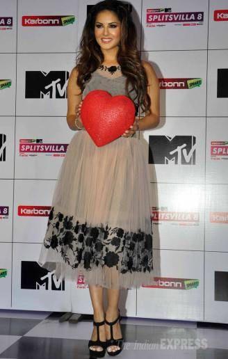 Sunny Leone adds oomph to 'MTV Splitsvilla' launch event