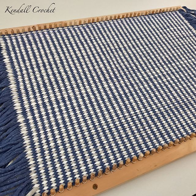 #tshirtyarn #weaving #ragrug   #kendallcrochet #crochet #crochetrug #knitting #crochetbasket #retro