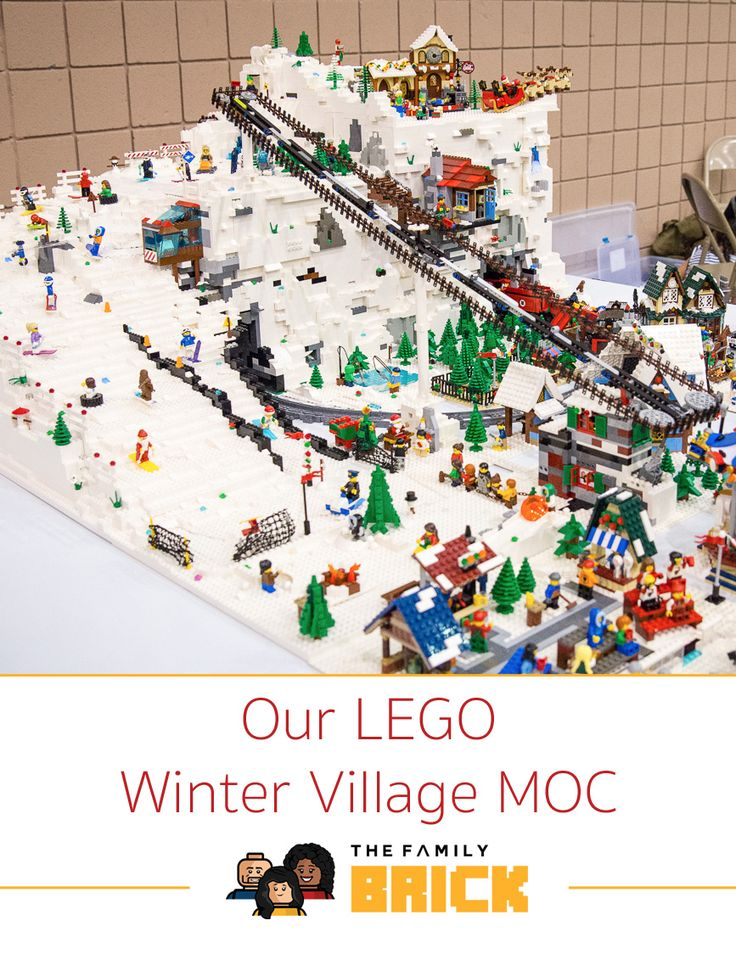 This past weekend at Celebricktion, we unveiled our LEGO Winter Village MOC. It was awesome to see how many people were interested and stopped by our booth to check it out and ask questions on the build. We really had a great time answering all the questions. In case you were one ofContinue Reading
