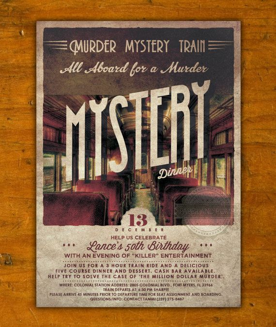 Best Murder Mystery Dinner Free: 17 Best Images About Invites On Pinterest
