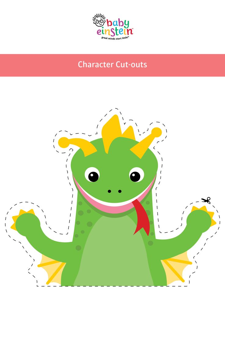 Get your Baby Einstein character cut-outs! Use them to make adorable themed goodie bags for your guests, decorate walls, balloons or as photo props. Get printables now!