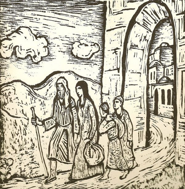 the book of ruth The book of ruth ( hebrew : מגילת רות , ashkenazi pronunciation : , megilath ruth, the scroll of ruth, one of the five megillot ) is included in the third division, or the writings ( ketuvim ), of the hebrew bible  in the christian canon it is treated as a history book and placed between judges and 1 samuel , as it is set in.
