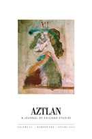 Aztlan: A Journal of Chicano Studies, Edited by Chon Noriega, CSW Affiliated Faculty Member