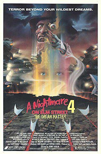 Nightmare On Elm Street 4: The Dream Master - Authentic Original 27 x 40 Movie Poster @ niftywarehouse.com #NiftyWarehouse #NightmareOnElmStreet #Halloween #Freddy #FreddyKrueger #Horror #HorrorMovies