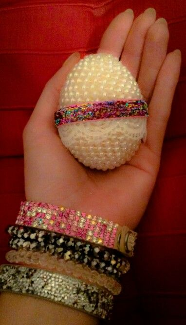 Easter handmade decorated egg