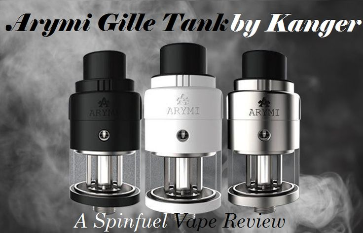 Kanger Arymi Gille Sub-Ohm Tank Kanger released their Arymi line of vape products in the summer of 2016. While the Arymi Gille Sub-Ohm Tank isn't their first atomizer under the new subsidiary name (check out Julia's review of the Arymi Armor Tank),   #Arymi #atomizer #EOCC #Gille #Kanger #Kangertech #sub-ohm #Tank
