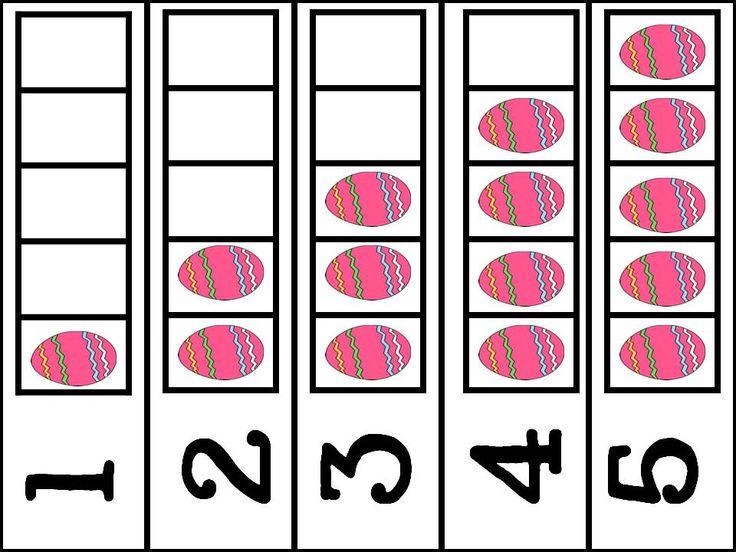 Pink Polka Dots Amp Pre K Easter Eggs Wee School Ideas