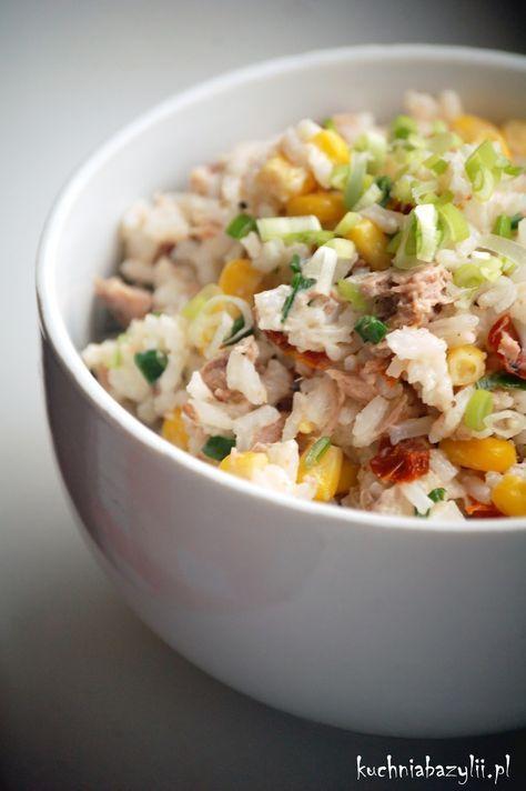 Kuchnia Bazylii: Ekspresowa sałatka z tuńczykiem