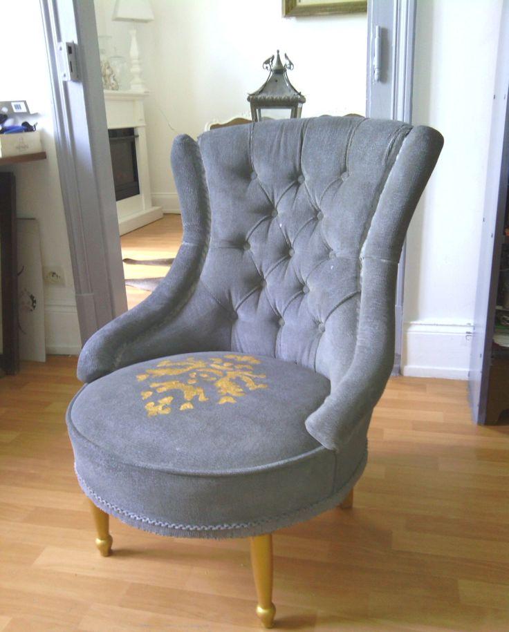 M s de 1000 ideas sobre fauteuil crapaud gris en pinterest fauteuil velours - Fauteuil crapaud amazon ...