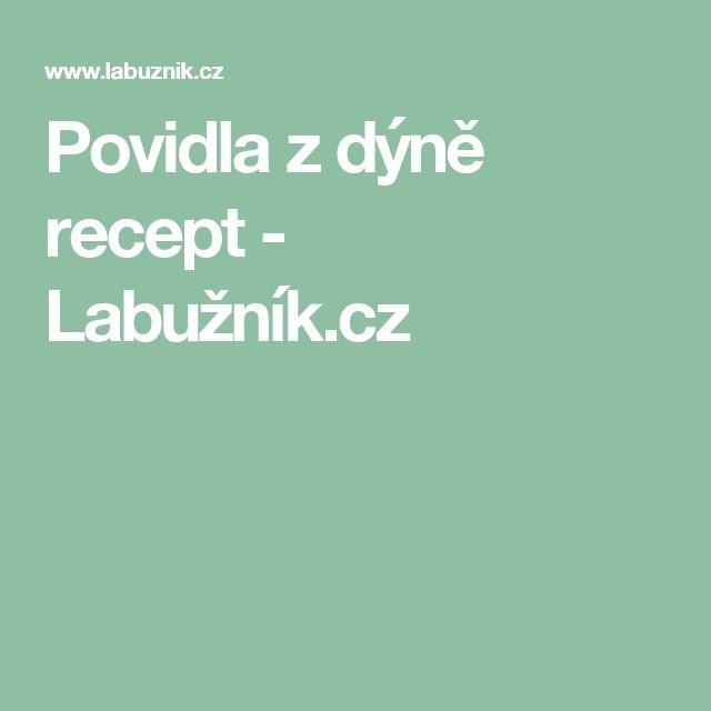 Povidla z dýně recept - Labužník.cz