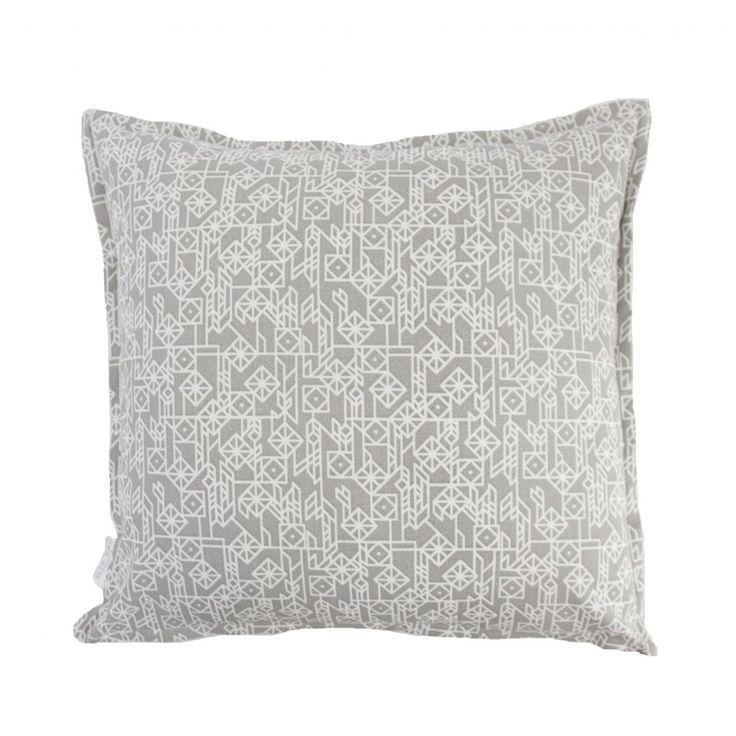 Elle Kay Fabrics Kite Titanium Scatter Cushion