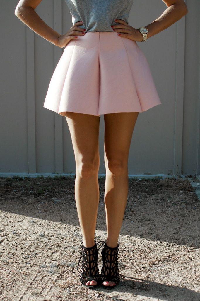 DIY: scuba mini skirt