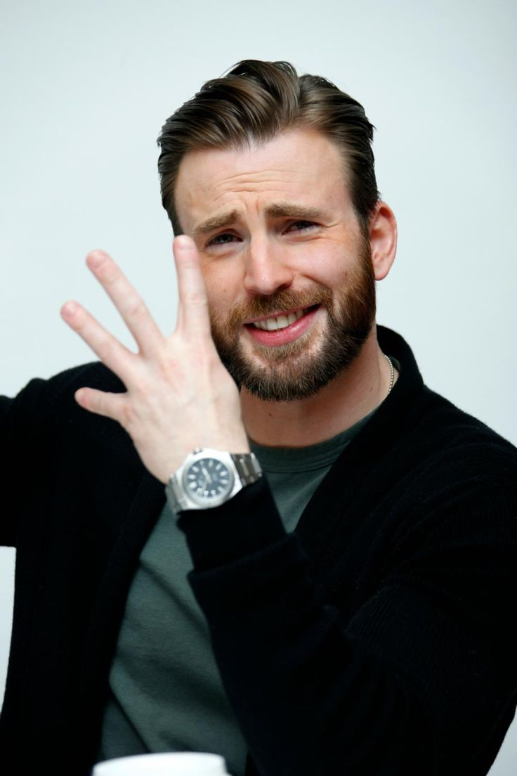 le sourire de Chris Evans
