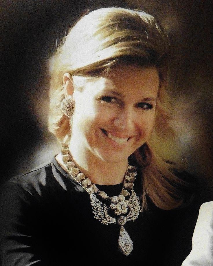 bijzondere sieraden, lijken mij erg duur : Queen Maxima of The Netherlands
