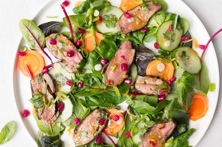 Culy Homemade: spicy Aziatische salade met eend