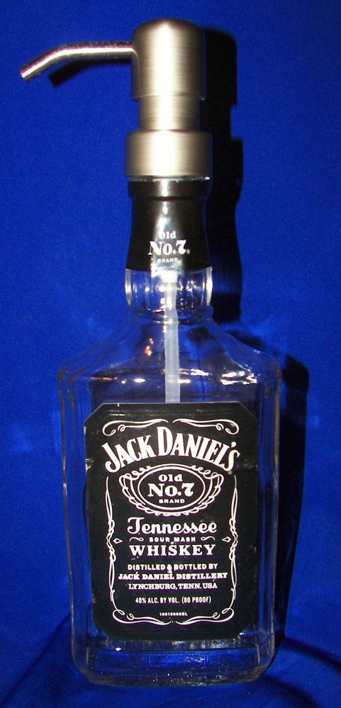 Jack Daniels Soap Dispenser, makes a great gift for the special man in your life!