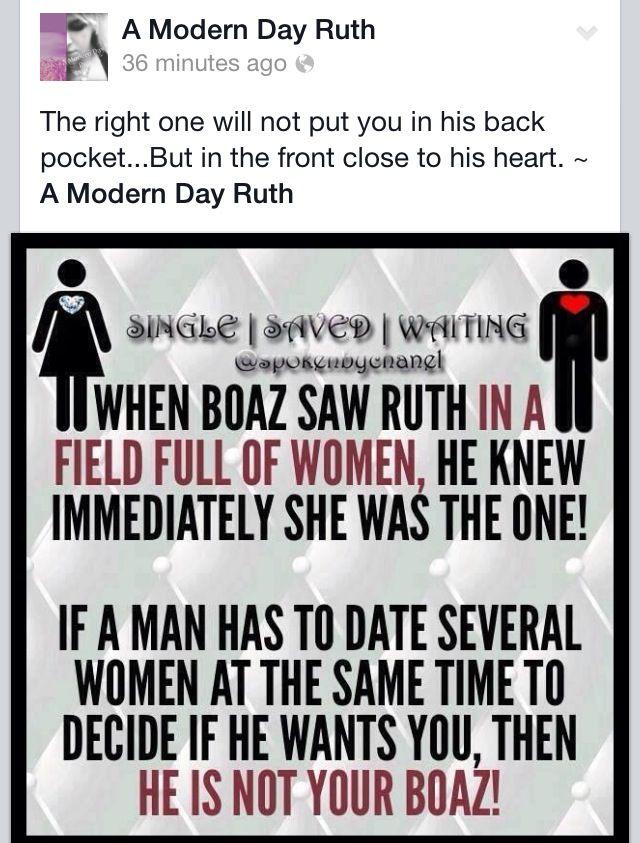 Boaz knew