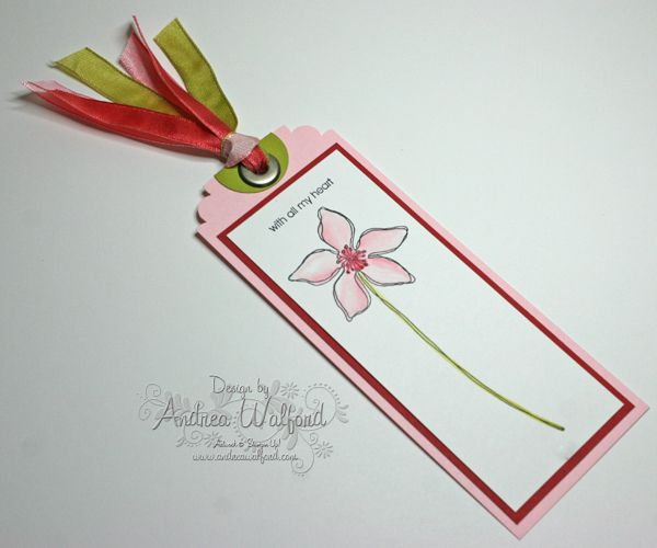 stampin up bookmark ideas | Tutorials & Ideas by Stampin' Up! Product :: Andrea Walford - An ...