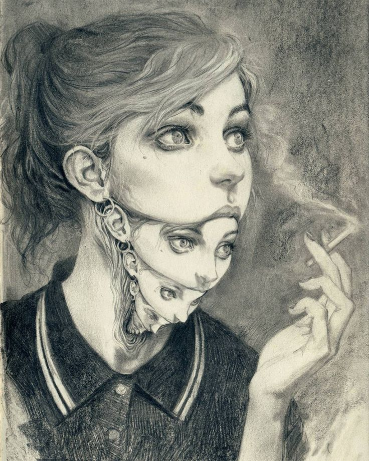 Les portraits surréalistes au pinceau de Miles Johnston  Dessein de dessin