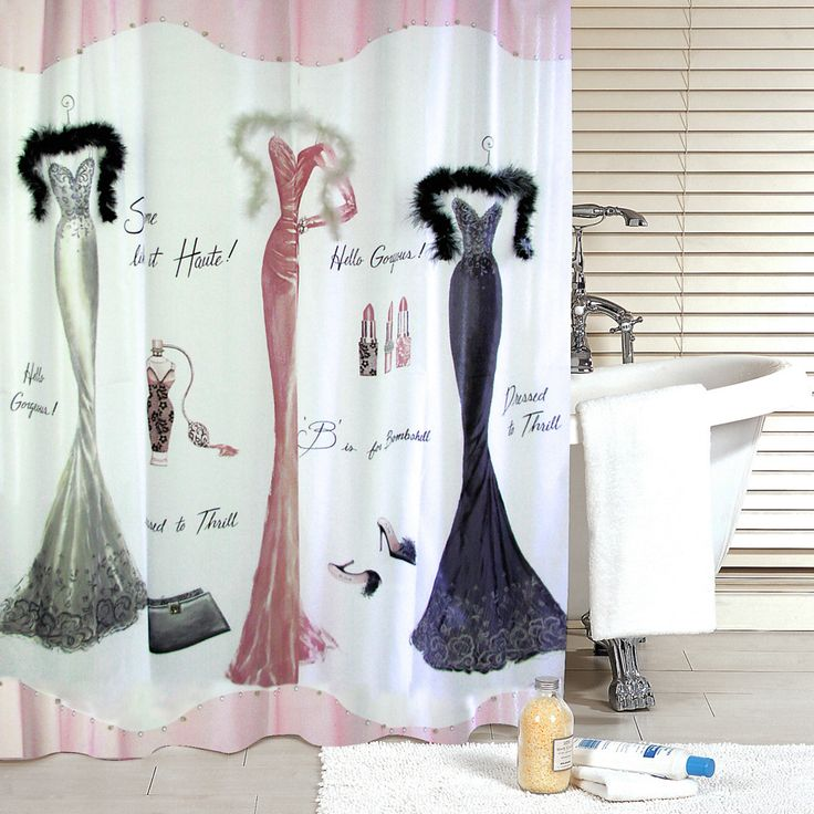 Get Free High Quality HD Wallpapers Dressed To Thrill Shower Curtain