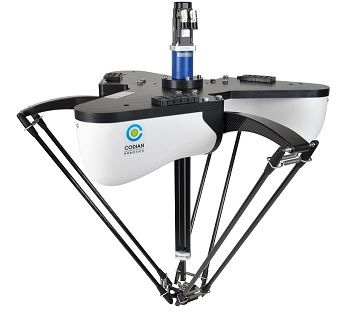 Codian Robotics introduces new high speed pick and place robots The D4-800-2/1100-2/1300-2 - ideal for pick and place processes with high speeds.