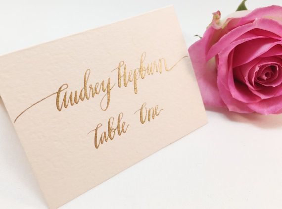Best 20 Place Card Calligraphy Ideas On Pinterest