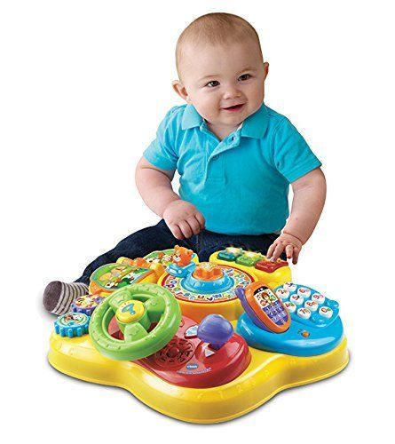 New Kids Magic Star Learning Table Toddler Baby Fun Game Activity Music Toy Set