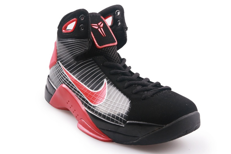 New Kobe shoes 2012 Hyperdunk TB Olympic Supreme Kobe Bryant Black Varsity  Red 324820 060