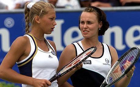 Martina Hingis and Anna Kournikova to double up at Wimbledon