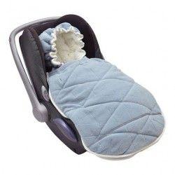 Śpiworek do fotelika Lodger Steel-Grey