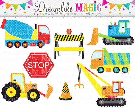27 best Mack truck turns 3 images on Pinterest Birthday party - best of blueprint construction clipart