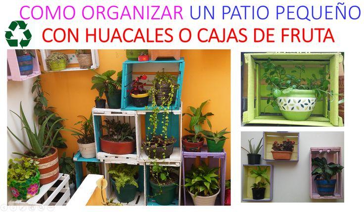 Decora con huacales o cajas de fruta