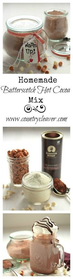 Butterscotch Hot Cocoa Mix and Capresso FrothTEC Giveaway! - Country Cleaver