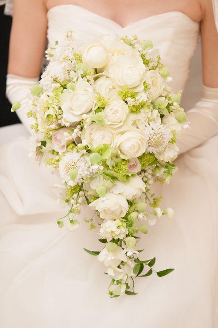 新郎新婦様からのメール ひらまつ様へ 奇跡の集まり : 一会 ウエディングの花