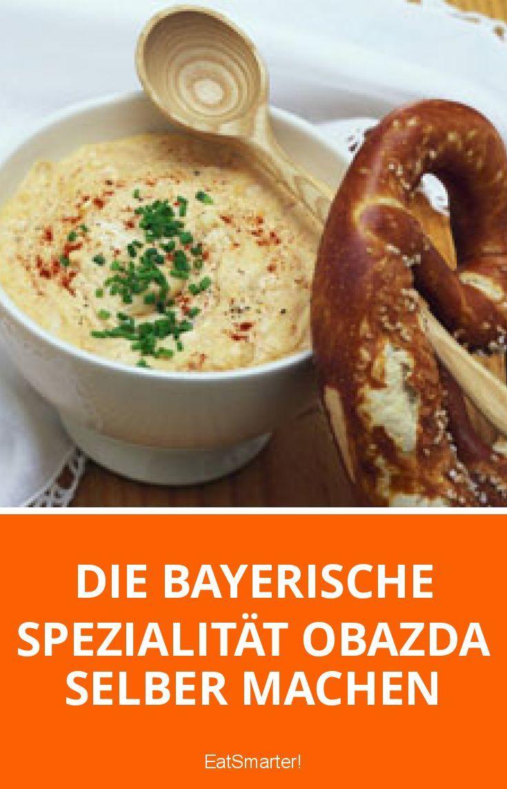 Die bayerische Spezialität Obazda selber machen | eatsmarter.de