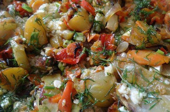 Овощное рагу в духовке рецепт – основные блюда. «Афиша-Еда»