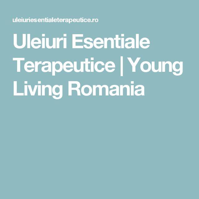 Uleiuri Esentiale Terapeutice   Young Living Romania