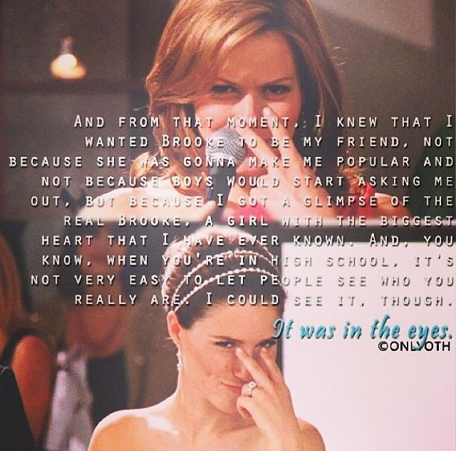 one tree hill friendship quotes