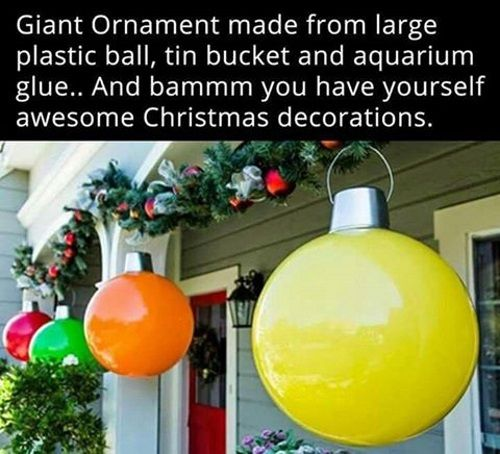 18 Clever Homemade Christmas Decorations - One Crazy House