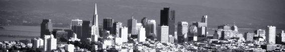 Koop 'San Francisco Skyline' van Wouter Goedvriend voor aan de muur.